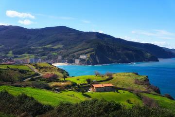 Bakio coast in Basque Country