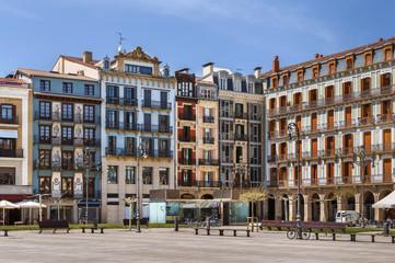 Castle Square, Pamplona, Spain