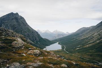 Litlefjellet mountain hiker