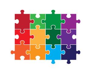 Twelve Piece Puzzle