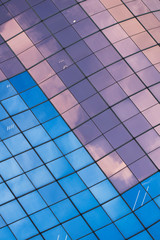 Abstract background of building exterior