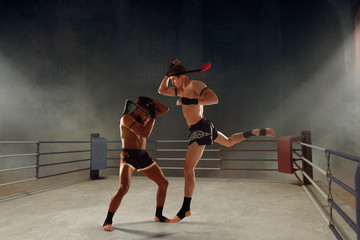 Muay thai, thai boxing fighters