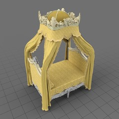 Regal canopy bed