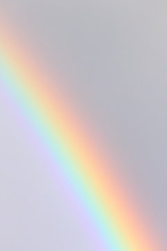 Details of rainbow  in rain filled sky
