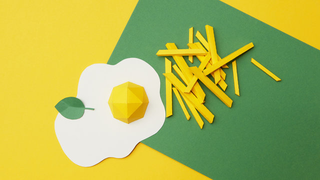 Fried Egg paper