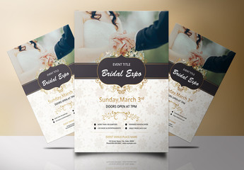 Bridal Expo or Show Flyer Layout