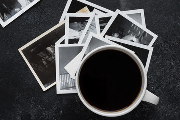 Reminiscing - Old Family Photos and Coffee