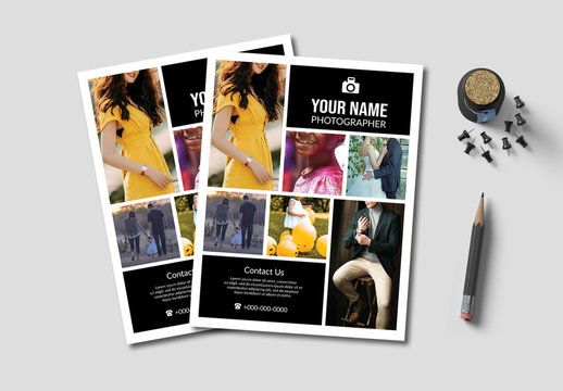 Photography Business Flyer Layout