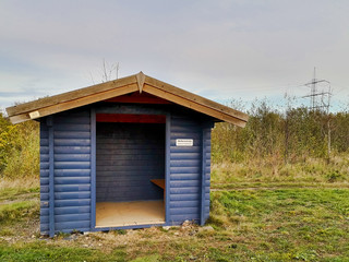 Wind and weather shelter
