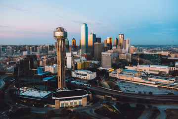 Sunset Over Dallas