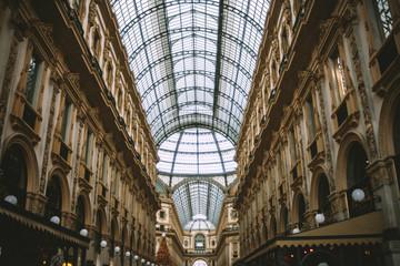 Vittorio Emanuele's Gallery in Milano