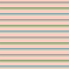 Blue, red, green, cream horizontal stripes
