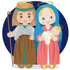 Guiseppe Maria e Geù bambino