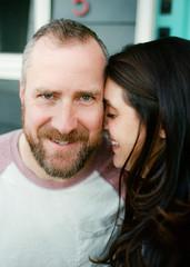 Loving photos of couple