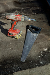 Cordless driver and saw