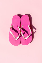 Pink Summer thong or Flip Flop