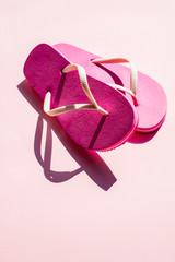 Pink Summer thong or Flip Flop