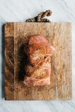 Preparing Pork Tenderloin for Pulled Pork Sandwiches