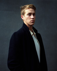 Young Man Studio Portrait