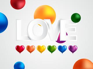Pride month background