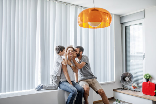 Family Enjoying at Home