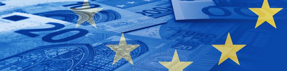 Europa & Geld Fototapete