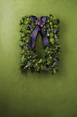 Christmas Wreath with Scottish Theme