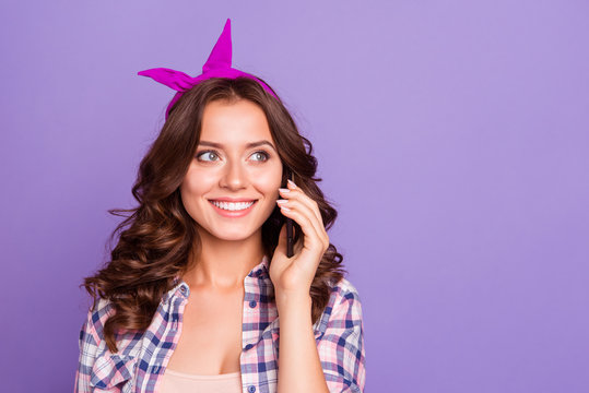 Gorgeous nice adorable good-looking grinning positive lady with