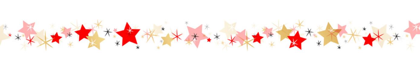 Frise étoiles