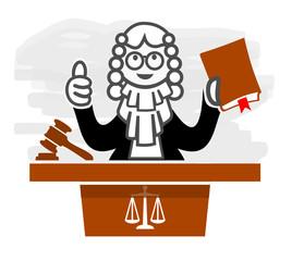 justice légales loi juge