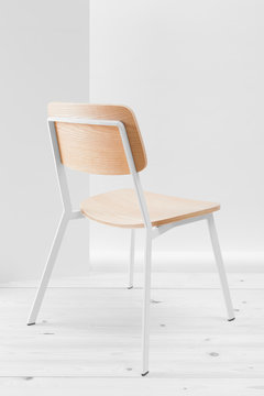 Chair on white.