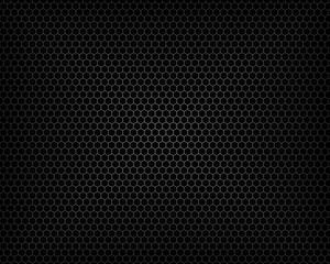 Hexagon grey pattern background