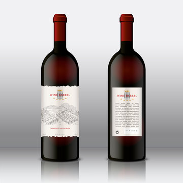 Modern Hight Quality Wine Labels