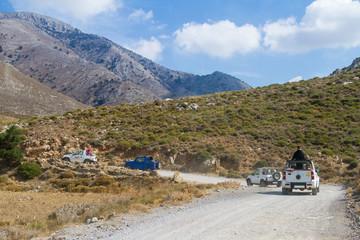 Jeep-Safari auf die Lasithi-Hochebene, Kreta