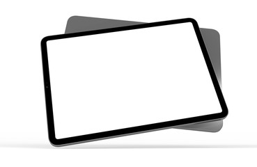 tablet pad isolated
