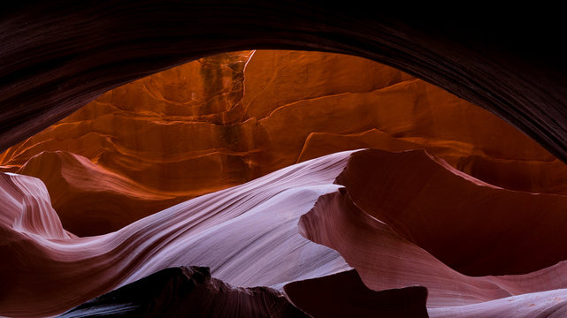 Walking through the dream like Antelope Canyon in Page Arizona while on a road trip.