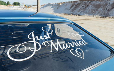 Just Married.