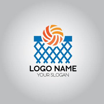 Basketball Net Logo