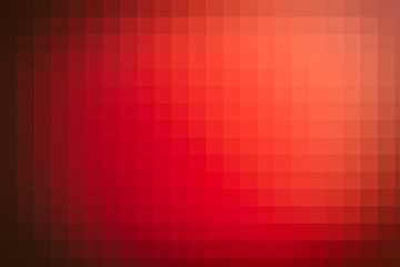 Red gradient polygonal background