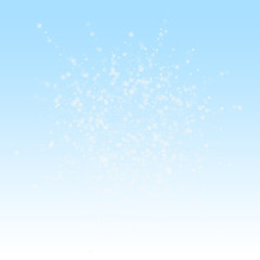 Beautiful snowfall Christmas background. Subtle fl