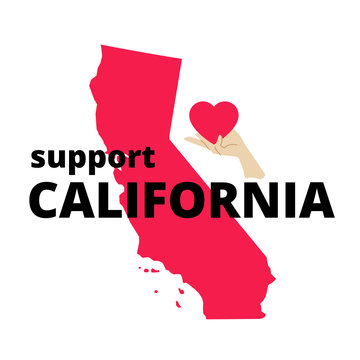 Support California Poster