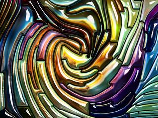 Diversity of Iridescent Glass