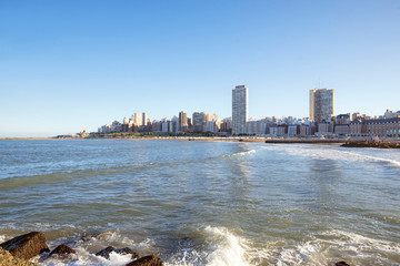 Landscape  Mar del Plata skyline