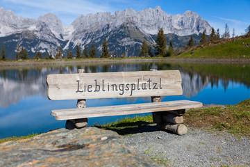 Fototapeta Lieblingsplatzl obraz