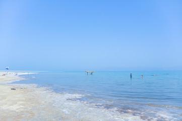 Dead Sea is a salt lake in Israel