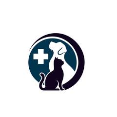 Modern Animal Pet Logo Template