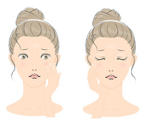 若い女性の美容イメージ03