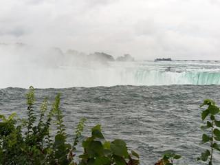 Niagara Falls from above the falls