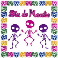 day of the dead skull 2