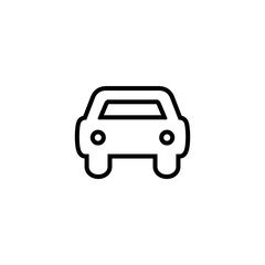 Car icon vector.